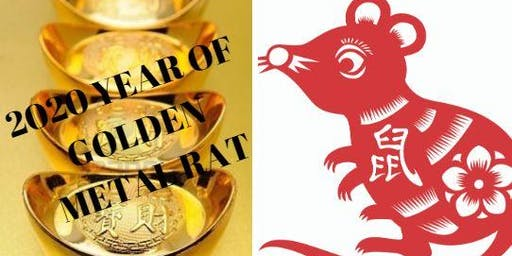 2020 Year of Golden METAL Rat ... What's in store for YOU ...