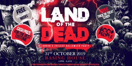 Land Of The Dead Halloween Party tickets