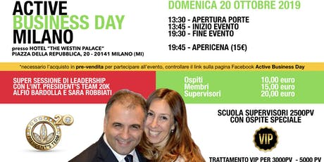 Active Business Day Milano - 20 Ottobre 2019 tickets