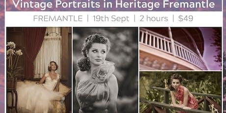 Vintage Portraits in Heritage Fremantle tickets