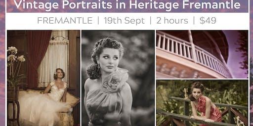 Vintage Portraits in Heritage Fremantle