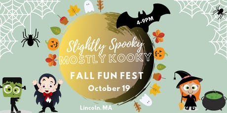 Slightly Spooky, Mostly Kooky Fall Fun Fest tickets