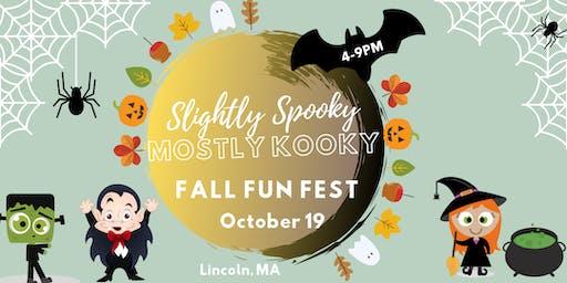 Slightly Spooky, Mostly Kooky Fall Fun Fest