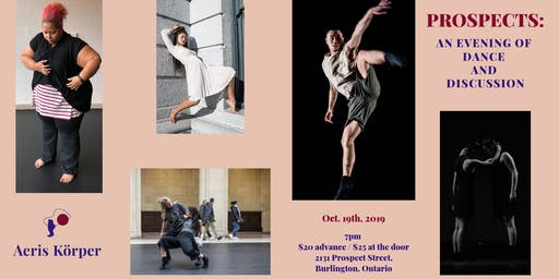 Prospects: an evening of dance and discussion