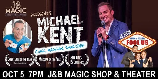 As Seen on FOOL US! - Michael Kent at J&B Magic Shop