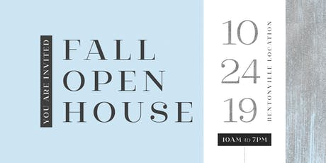 Fall Open House 2019 tickets