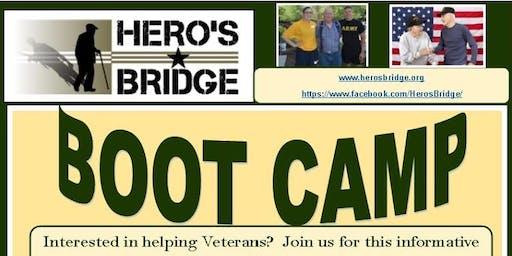 Volunteer to help veterans