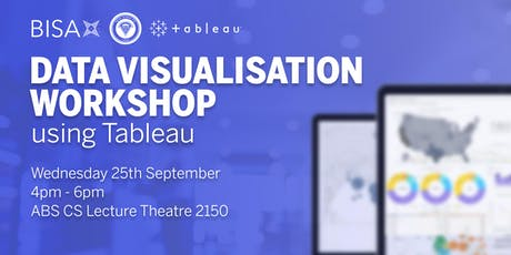 Data Visualisation Workshop using Tableau tickets