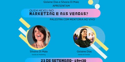 Palestra de Marketing e Vendas com MENTORIA AO VIVO