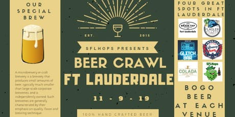 Fort Lauderdale Beer Crawl tickets