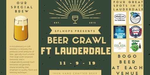 Fort Lauderdale Beer Crawl