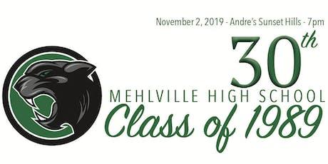 Mehlville High School : Class of 1989 : 30th Reunion tickets