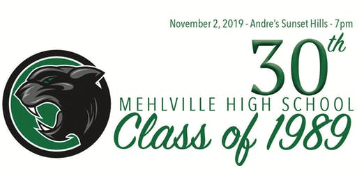 Mehlville High School : Class of 1989 : 30th Reunion