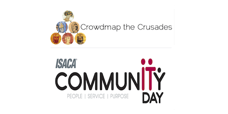 ISACA CommunITy Day – October 5 – Crowdmap the Crusade tickets