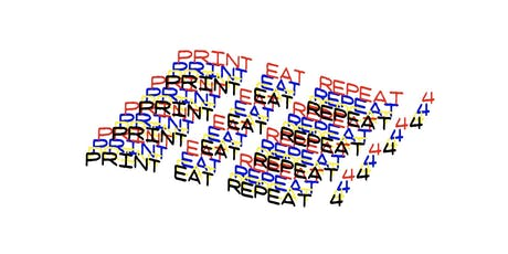 Print Eat Repeat 4 tickets