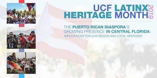 The Puerto Rican Diaspora - UCF Latinx Heritage Month