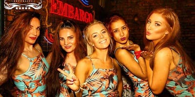 SATURDAY  TERRACE PARTY AT EMBARGO CHELSEA + COMP DRINK!