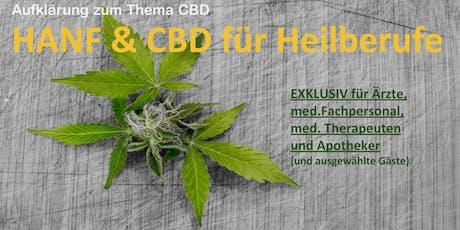 """Informationsvortrag """"Hanf & CBD für Heilberufe"""" Tickets"""