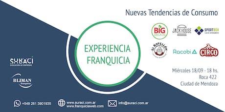 Experiencia Franquicia: Nuevas Tendencias de Consumo entradas