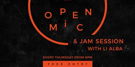CANTOS Open Mic and Jam Session tickets