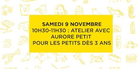 Atelier avec Aurore Petit tickets