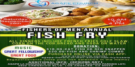 Agape Fishers of Men Annual Fish Fry tickets