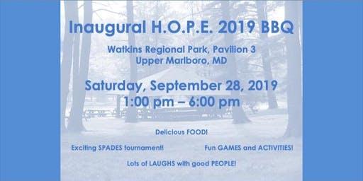 The Inaugural H.O.P.E. 2019 BBQ