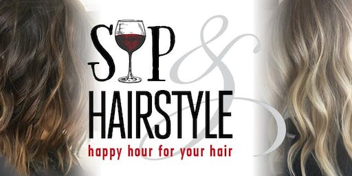 Sip & Hairstyle