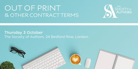 Out of Print and Other Contract Terms: The Way Forward  tickets