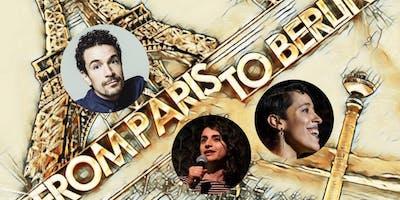 From Paris to Berlin - English Comedy Show - w. Yacine Bellhouse