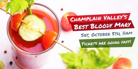 Champlain Valley's Best Bloody 2019 tickets