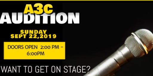 A3C INDIE ARTIST CONCERT AUDITION