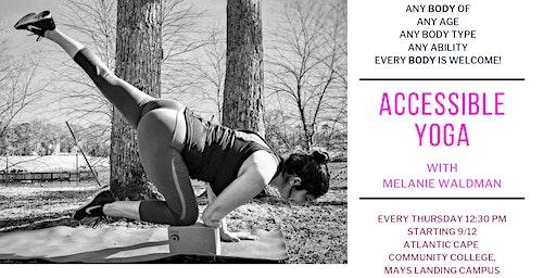 Accessible Yoga with Melanie Waldman