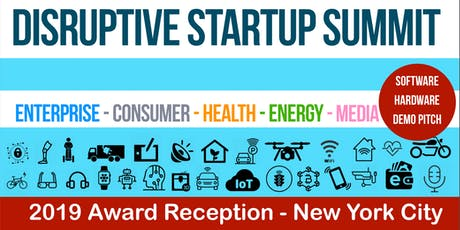 Disruptive Startup Summit (2019 NYC Award) tickets