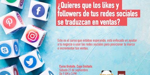 Curso de Redes Sociales por Revolución Panda