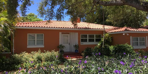 Copy of Open house (rental) Sunday 10-2- Coral gables house w fenced backyard
