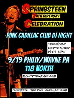 Bruce Springsteen 70th Birthday Party: Presented by Pink Cadillac Club