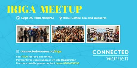 #ConnectedWomen Meetup - Iriga (PH) - September 25 tickets