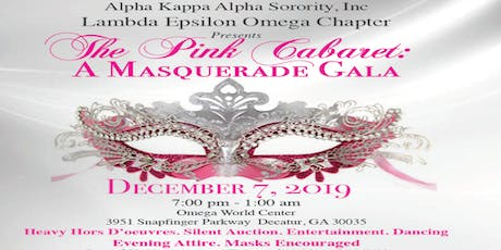 The Pink Cabaret: A Masquerade Gala tickets
