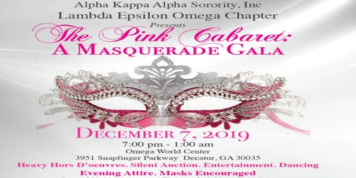 The Pink Cabaret: A Masquerade Gala