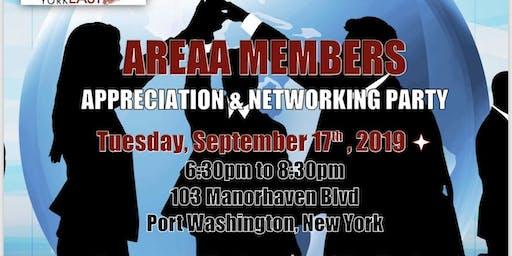 AREAA NY EAST Membership Appreciation