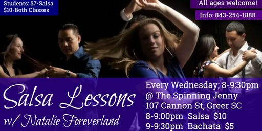 Salsa & Bachata Latin Dance Lessons