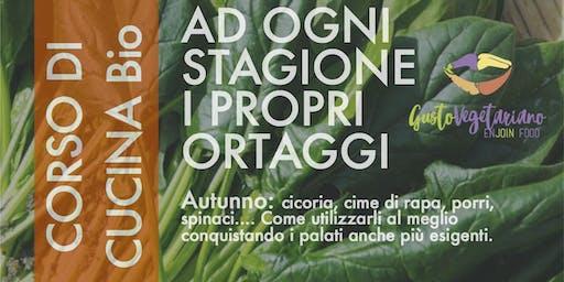 """Corso di cucina vegetariana con degustazione """"L'autunno"""""""