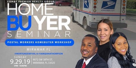Postal Workers Homebuyer Seminar presented by The Thompson Team | CRPG tickets
