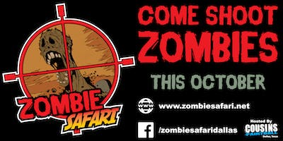 Zombie Safari Dallas - The Zombie Hunt- Oct 19th 2019
