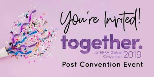 doTERRA POST CONVENTION GET TOGETHER MAKE N TAKE