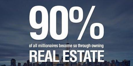 Real Estate Investing: Learn To Wholesale, Fix&Flip, Buy Cash Flow Rentals tickets
