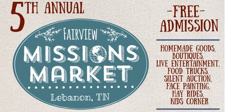 5th annual Fairview Missions Market tickets