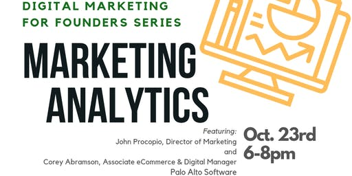 Digital Marketing for Founders Series: Marketing Analytics