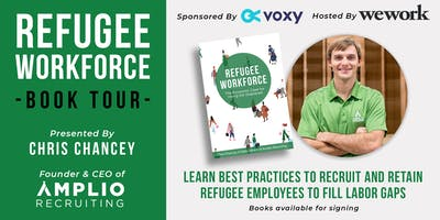 RALEIGH, NC | Refugee Workforce Book Tour with Chris Chancey